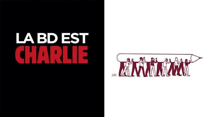 Lire l'extrait gratuit de <i>La BD est Charlie</i>