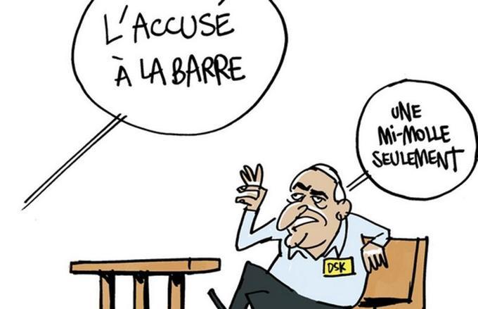 Thibault Soulcié a produit un dessin drôle pour La Revue dessinée.