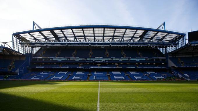 Stamford Bridge, le stade de Chelsea et ses 41.798 places.