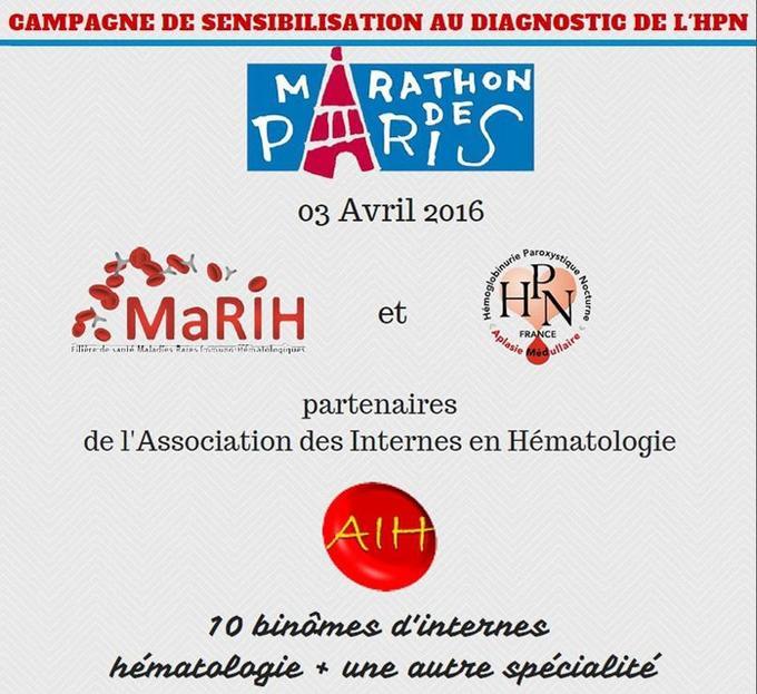 «10 binômes d'internes» parcourront dimanche les 42 kilomètres du Marathon de Paris.
