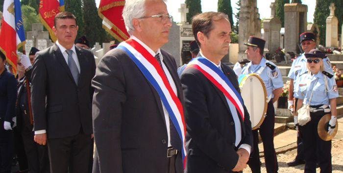Elie Aboud et Robert Menard. DR