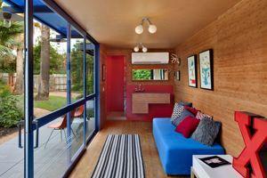 Interior da casa (Crédito: Chris Cooper/ Poteet architects)'hôte (Crédit: Chris Cooper/ Poteet architects)