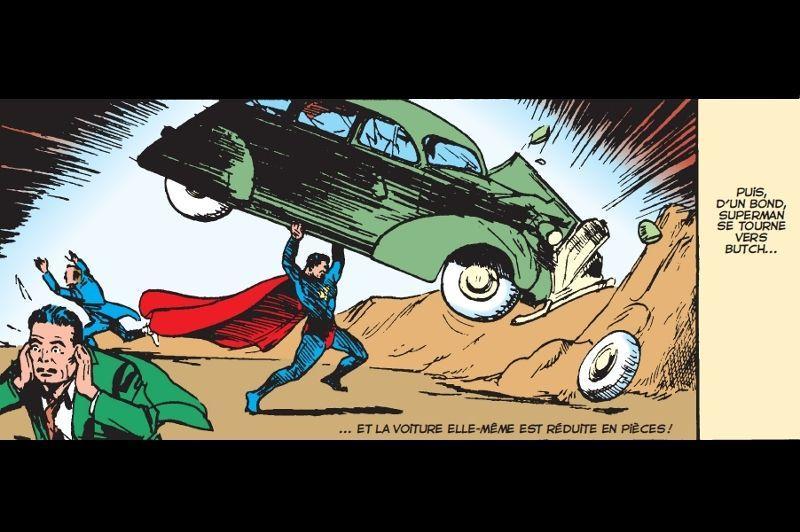 Les créateurs de Superman, Jerry Siegel et Joe Shuster, publient leurs premières planches dans le numéro un d'<i>Action Comics</i> en 1938. Une nouvelle revue lancée par DC Comics, dans laquelle il reste de la place... Le super-héros défenseur du bien se révèle au grand public. Il se pose en justicier et s'intéresse aux causes qui chagrinent l'Amérique de la fin des années 30, en s'attaquant aux méchants corrompus.