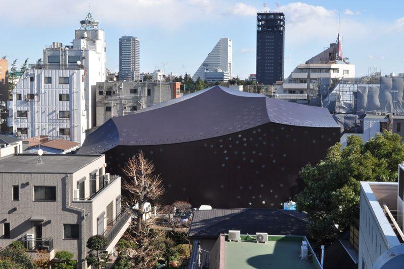 Theatre Za-Koenji, 2005—2008, Suginami-ku, Tokyo, Japon