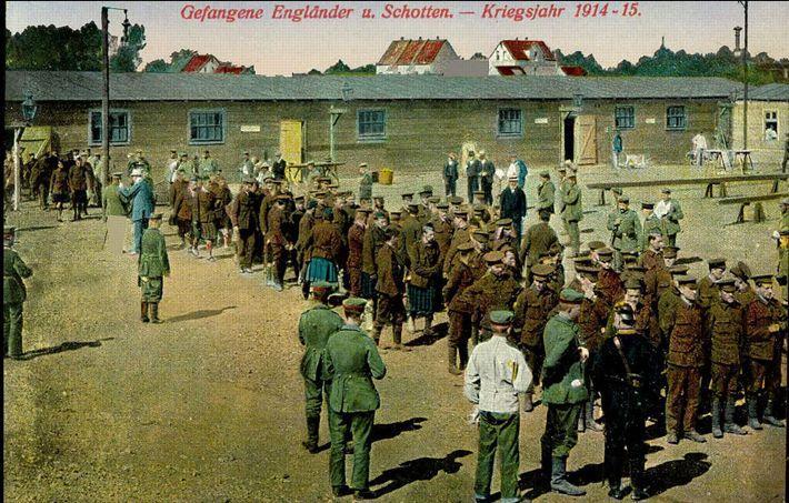 Registre Mentionnant Le Transfert De Charles Gaulle En Octobre 1916 Depuis Sczuszyn Lituanie Vers Fort DIngolstadt Dou Capitaine Etait Deja