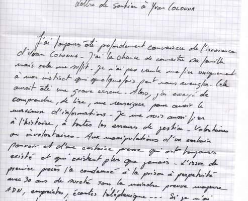 Eric Cantona Prend La Plume Pour Soutenir Yvan Colonna