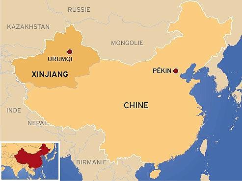 Carte Asie Pekin.Pourquoi Le Xinjiang Est Si Precieux Pour Pekin