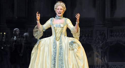 Natacha Régnier, le grand théâtre de Marie-Antoinette