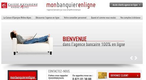 Les Caisses D Epargne Lancent Leur Premiere Banque En Ligne