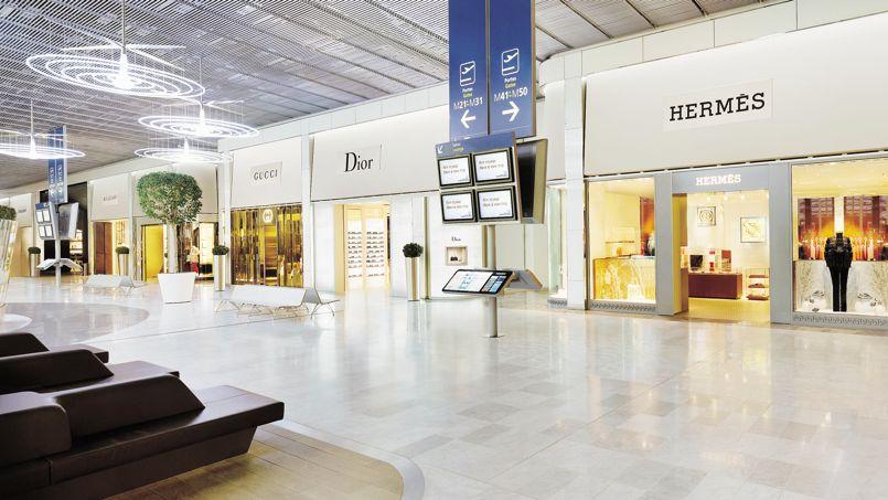 Les boutiques d aéroports, nouvel eldorado des griffes de luxe c180e6ce24b