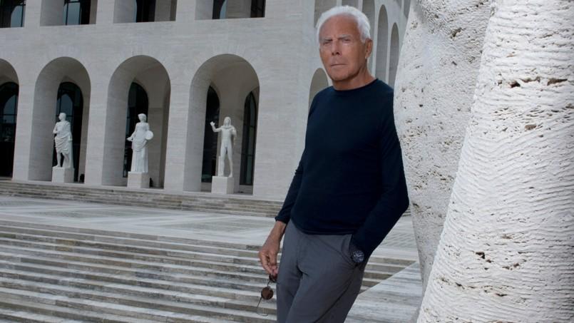 356f7488dc7 Giorgio Armani  «J ai fait mon testament que je modifie chaque semaine»