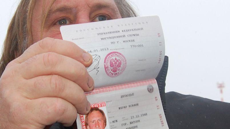 Gerard Depardieu Et Ses 7 Passeports Capitaux