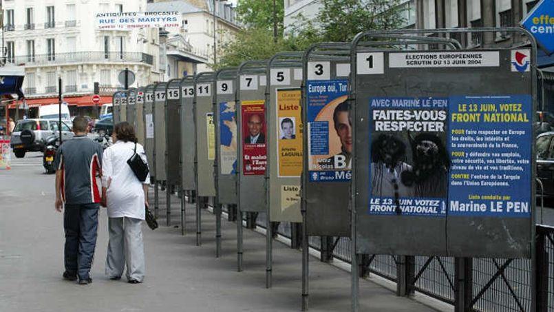 Européennes : de nombreuses villes en manque de panneaux électoraux