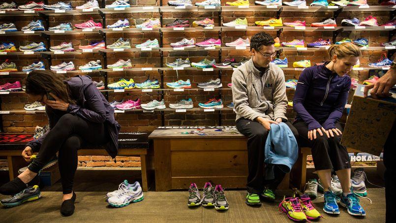 meilleur authentique 2adf9 ad0e4 Les chaussures Adidas ZX flux et Nike Roshe run font un carton