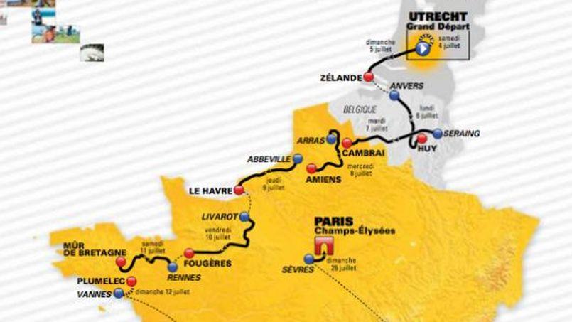 La Carte Du Tour De France 2015 Fuite Sur Twitter