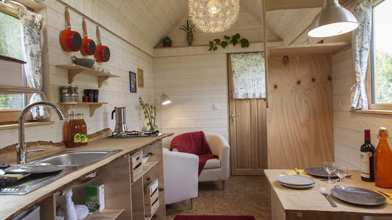 Small Mezzanine Bedroom Tiny Homes