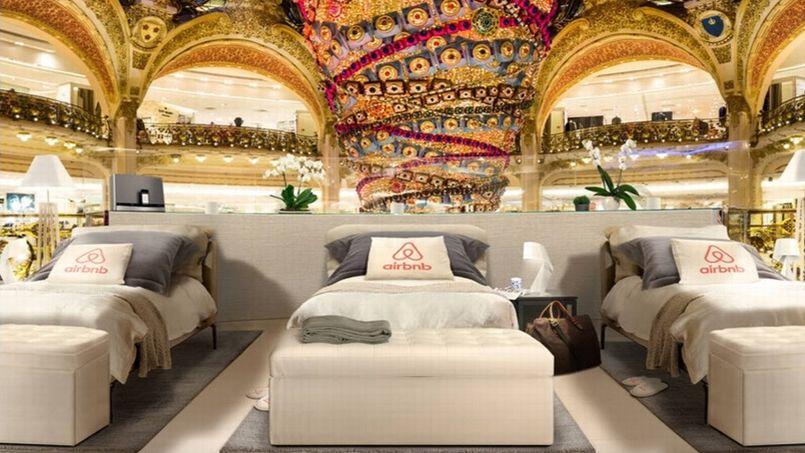 edd51a8fb8 Pour les soldes d'hiver, Airbnb propose un séjour… aux Galeries Lafayette