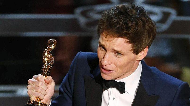 Oscars 2015 Eddie Redmayne Sacré Meilleur Acteur