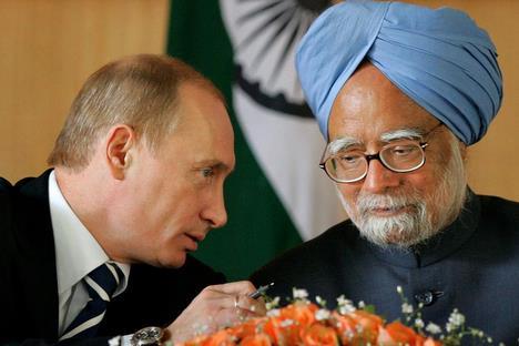 La Russie construira des réacteurs nucléaires en Inde