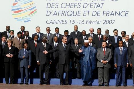 Chefs d'états Africains