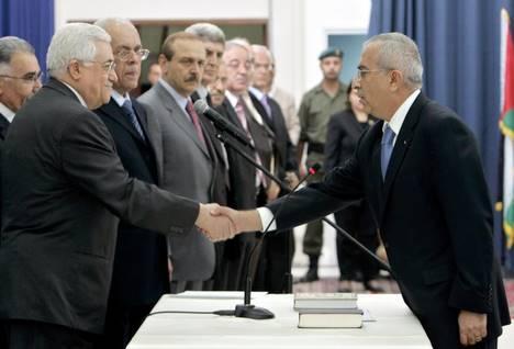 Le gouvernement d'urgence en place à Ramallah
