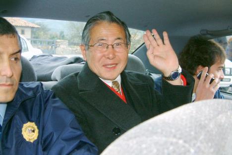 L'ex-président Alberto Fujimori sous les verrous au Pérou