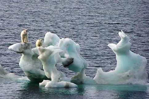La fonte de l'Arctique s'accélère