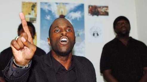 Kemi Seba en février dernier (Ayissi/AFP)