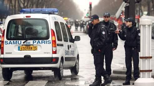 Après l'explosion, le quartier a été entièrement bouclé. Crédits photo : AFP