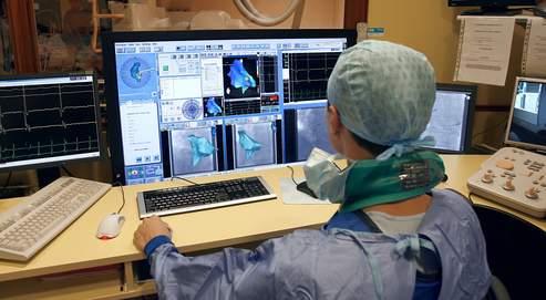 Un coeur opéré sous téléguidage magnétique