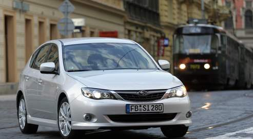 Subaru Impreza: un gabarit passe-partout