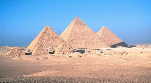 Un copyrightsur les pyramides d'Égypte