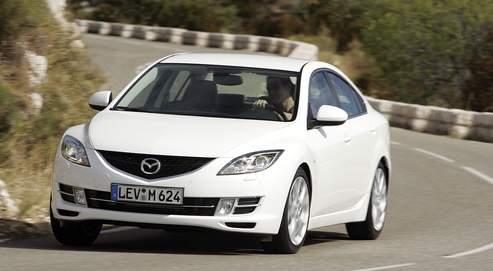 Mazda 6, le sport en famille