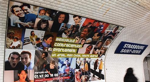 La campagne d'information a été lancée hier en Île-de-France, Région où sont réalisés 25% des avortements en France.