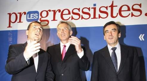 Organisé par Éric Besson, le colloque «la voie progressiste» s'est tenu jeudi à la Sorbonne en présence de Tony Blair et François Fillon.