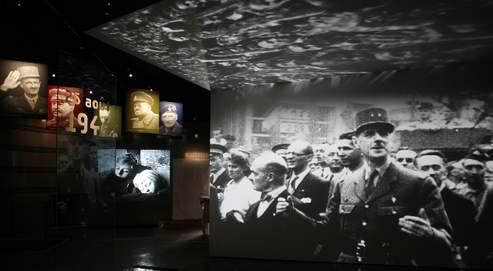 Inauguré le 22 février prochain, l'Historial retrace l'itinéraire du Général avec un parcours audiovisuel et interactif. (Hervé Abbadie/Mémorial Charles de Gaulle)
