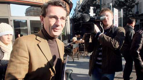 Jean-Christophe Fromantin, dimanche à Neuilly-sur-Seine.