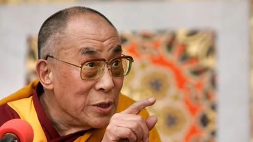 Le dalaï-lama, leader spirituel des Tibétains, dimanche à Dharamsala. (AP)