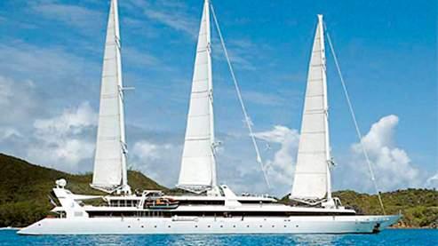 Le Ponant est un trois-mâts de luxe.