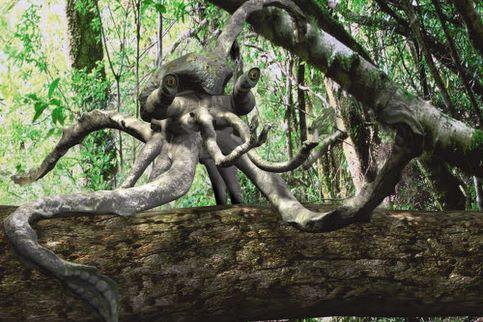 La canopée est le nouveau foyer des communautés de pieuvres-singes.