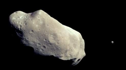 Un astéroïde, ici Ida. (Nasa)