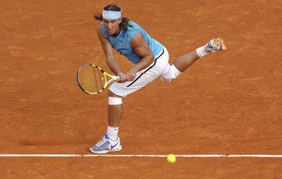Rafael Nadal a été dominé dans le deuxième set mais a su réagir