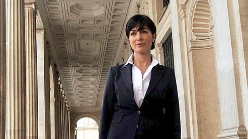Mara Carafagna, passée de la télévision au gouvernement Berlusconi.