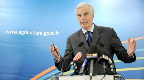Michel Barnier, mercredi, à l'issue de la réunion avec les marins pêcheurs.