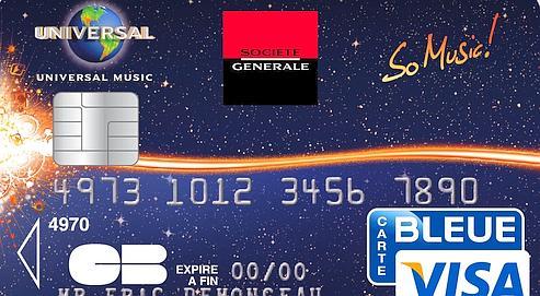 Premiere Carte Bleue.So Music La Nouvelle Carte Bancaire Au Rythme De La
