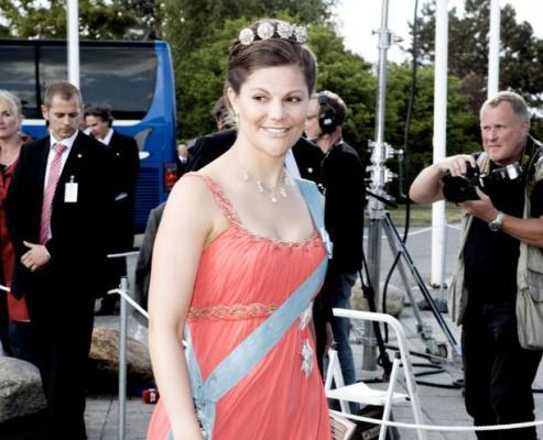 La princesse héritière Victoria de Suède l'une des représentantes des Cours scandinaves (AFP PHOTO/SCANPIX / Kristian Brasen).