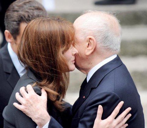 Carla Bruni et Pierre Bergé, la droite au grand Coeur !