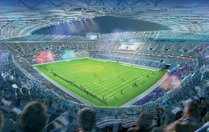 Futur stade de Strasbourg