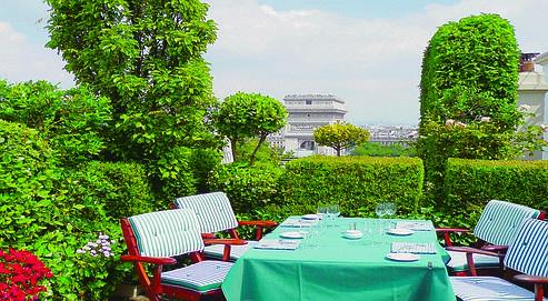20 terrasses paris jardins plein ciel du rapha l - Restaurant terrasse jardin toulouse le mans ...