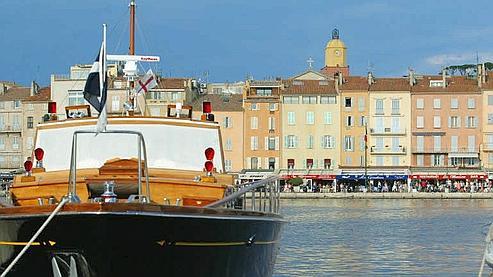 Pour goûter au charme de Saint-Tropez, il faut compter 15 650 euros le mètre carré. (Photo Le Figaro/ Archambault)
